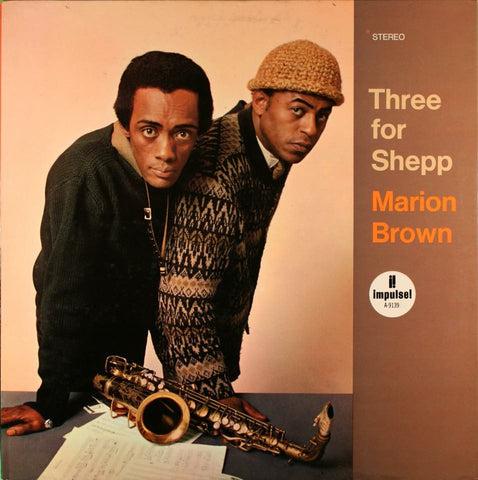 Brown, Marion ‎– Three For Shepp