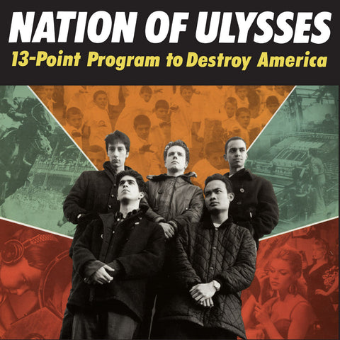 Nation Of Ulysses ‎– 13-Point Program To Destroy America