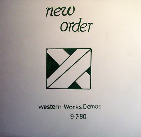 New Order ‎– Western Works Demos 9 · 7 · 80