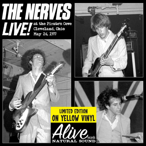 Nerves ‎– Live! At The Pirate's Cove