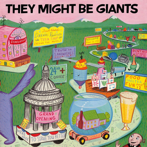 They Might Be Giants ‎– They Might Be Giants
