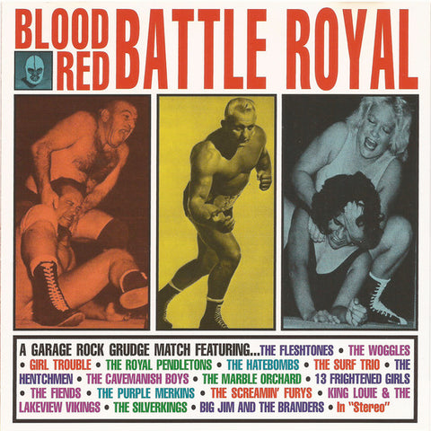 Various ‎– Blood Red Battle Royale