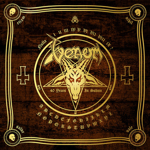 Venom ‎– In Nomine Satanas - The Neat Anthology (40 Years In Sodom)