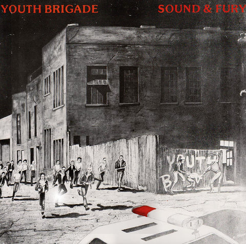 Youth Brigade ‎– Sound & Fury