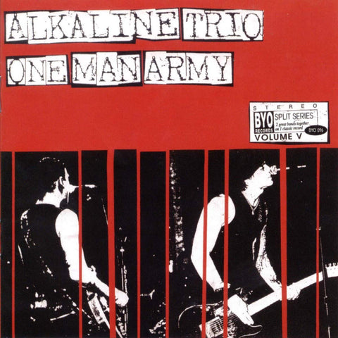 Alkaline Trio / One Man Army ‎– BYO Split Series / Volume V