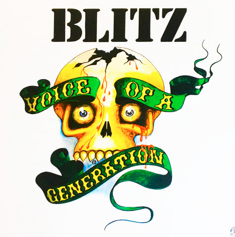 Blitz ‎– Voice Of A Generation