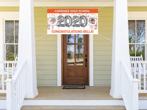 Personalized Cherokee Graduation Banner