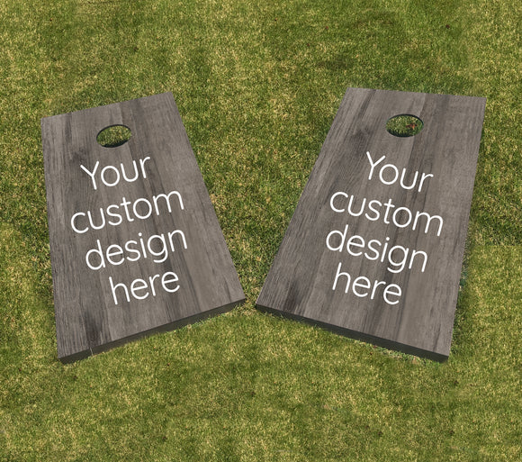Customizable Cornhole Set