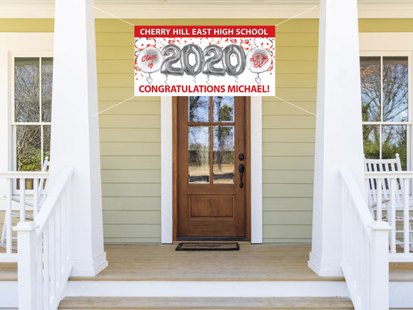 Personalized CH East Graduation Banner