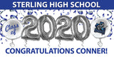 Personalized Sterling Graduation Banner