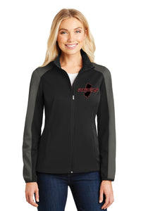 Raiders Ladies Active Colorblock Soft Shell Jacket
