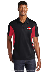 "Clevemore ""C"" Color Block Polo"