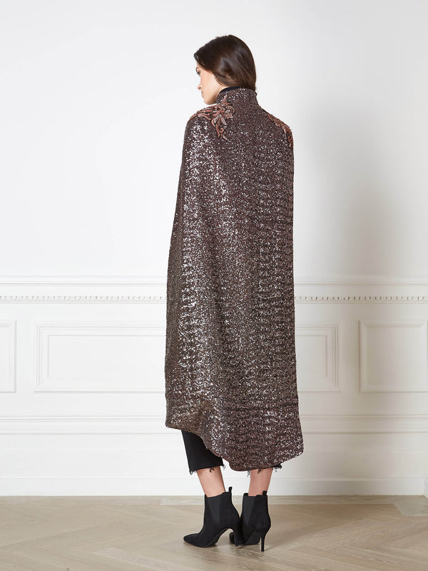 Sienna Rose Gold Cape