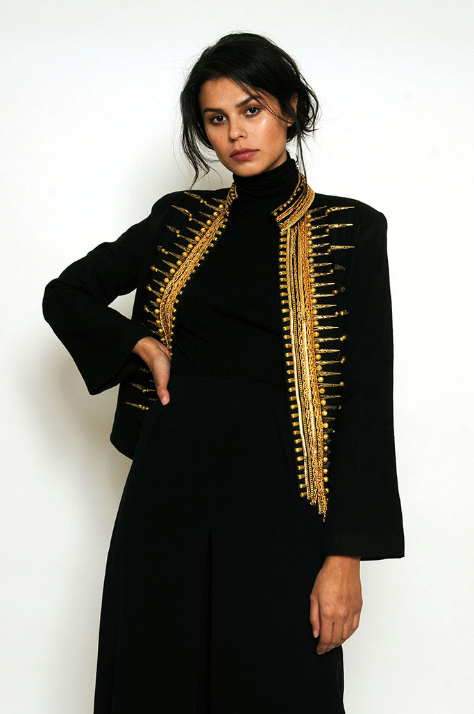 Tasha Bullet Gilt Jacket