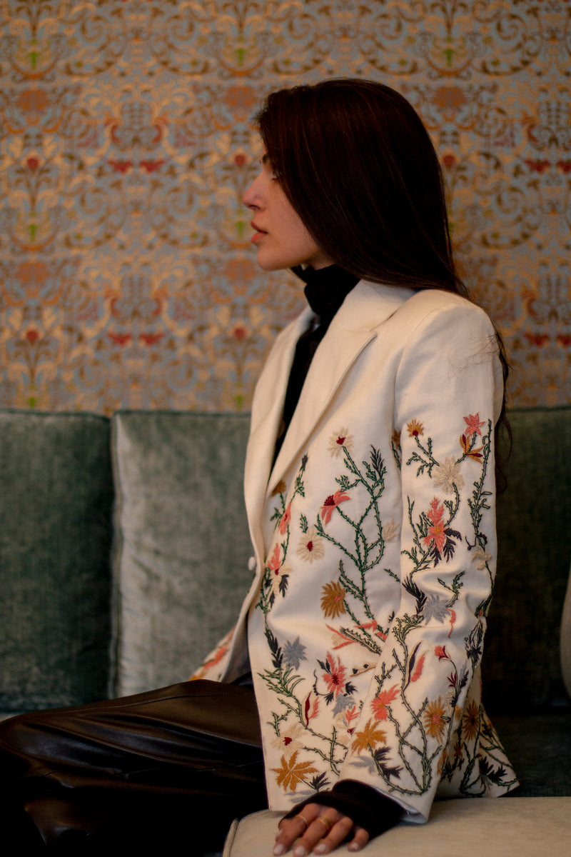 Iris Smoking Jacket