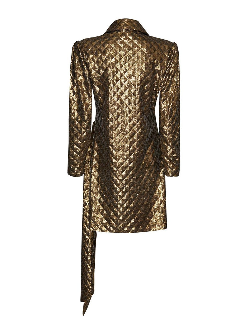 Mara Gold Dress