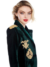 Tara Hunting Green Blazer