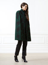 Celine Racing Green Cape