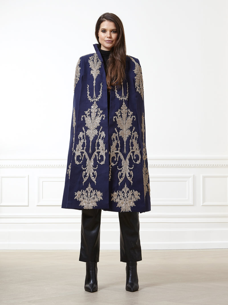 Luna Navy Cape