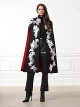 Chloe Applique Cape