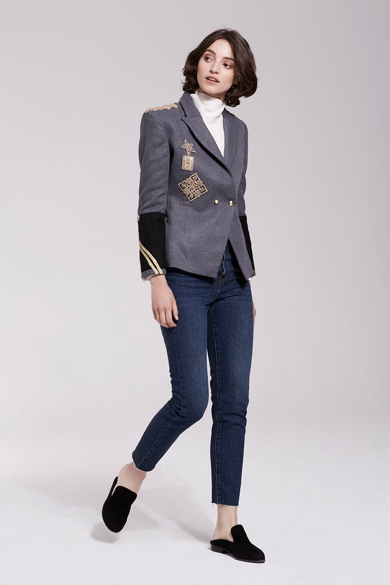 Cara Structured Blazer 8018