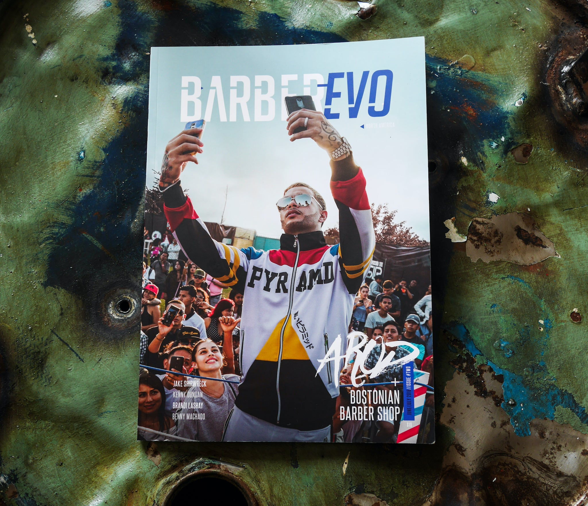 Oil Can Grooming BarberEVO Magazine North America Launch