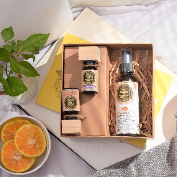 Sleep Kit (Two essential oils - 15ml, One carrier oil - 100ml) <br/><h2 class='ProductMeta__Vendor Heading u-h6'>Lavender, Orange, Almond</h2>