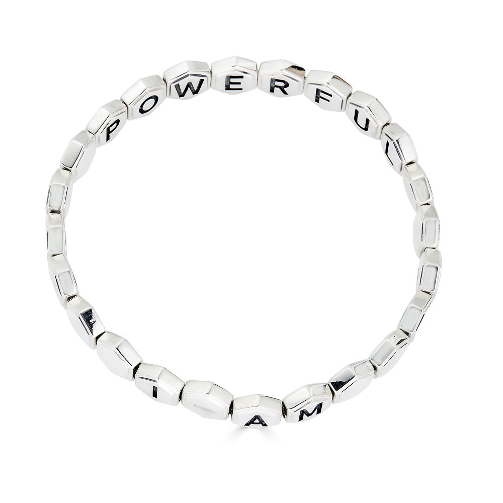 I AM POWERFUL Affirmation Bracelet