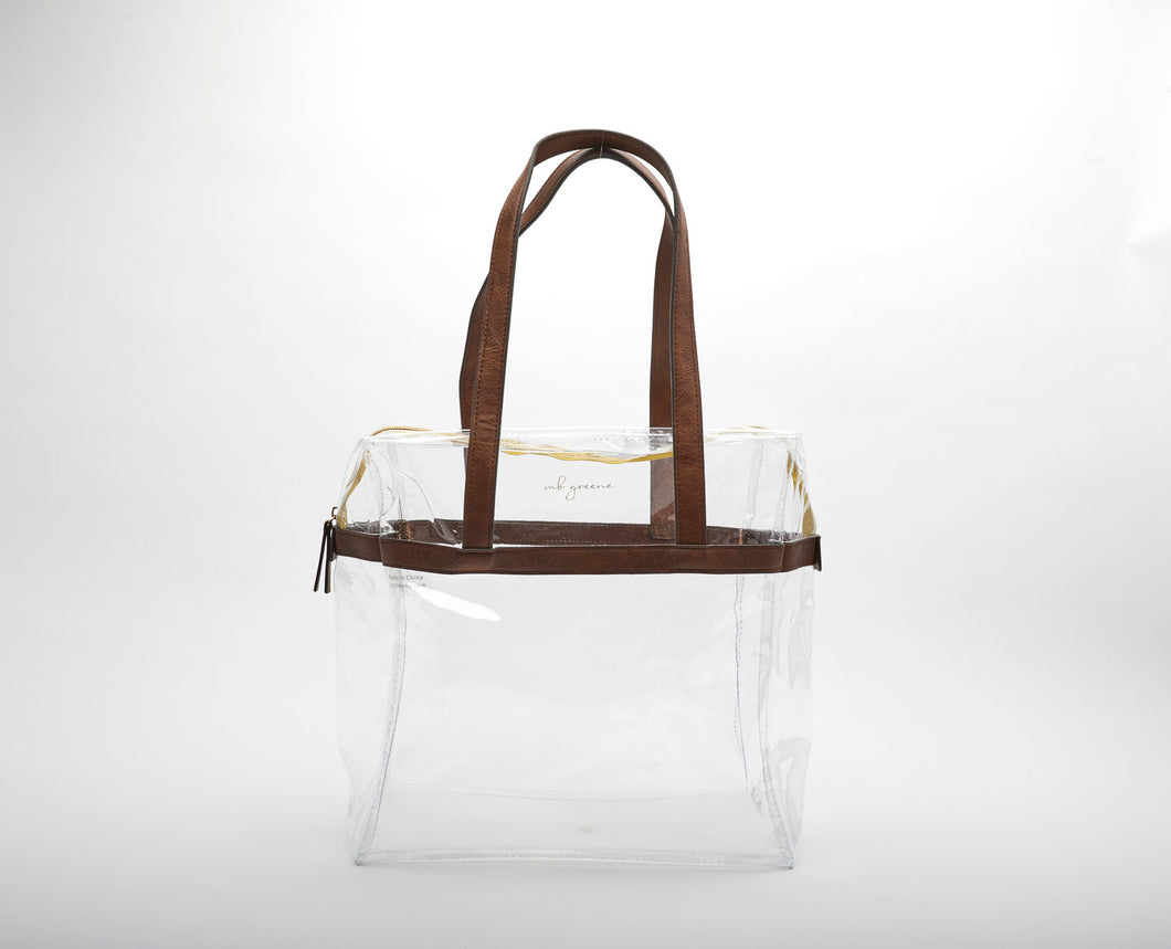 Erin Large Clear Tote