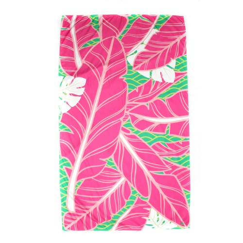 Pink Palm Towel