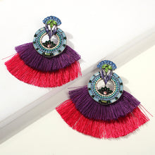 Load image into Gallery viewer, Alexandria Fringe Earrings