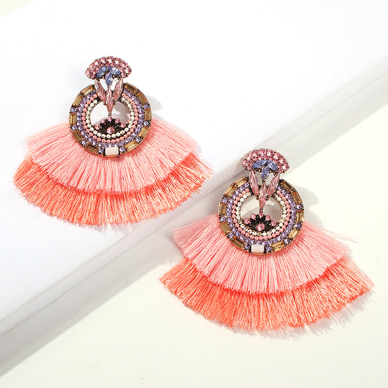 Alexandria Fringe Earrings