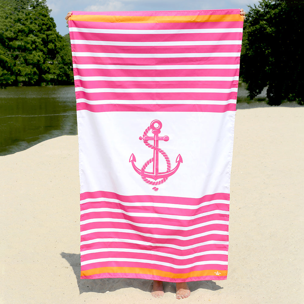 Anchor Stripe Towel