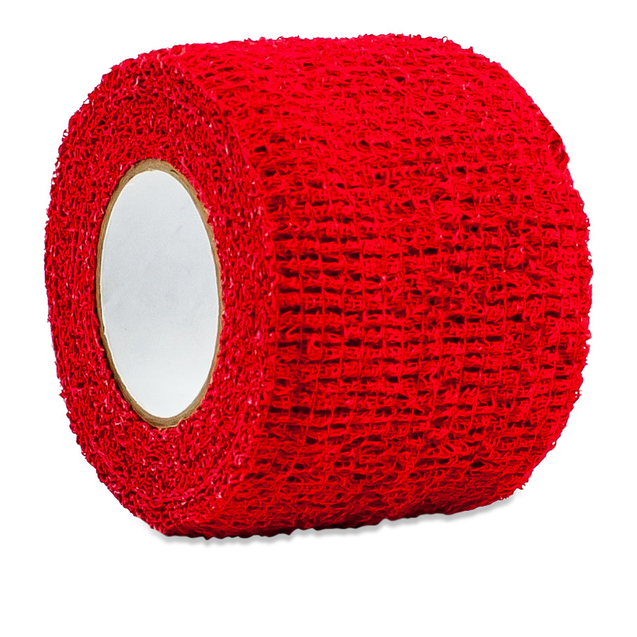 "Proguard Red Power Flex Grip Hockey Tape (1.5"" x 5yd)"