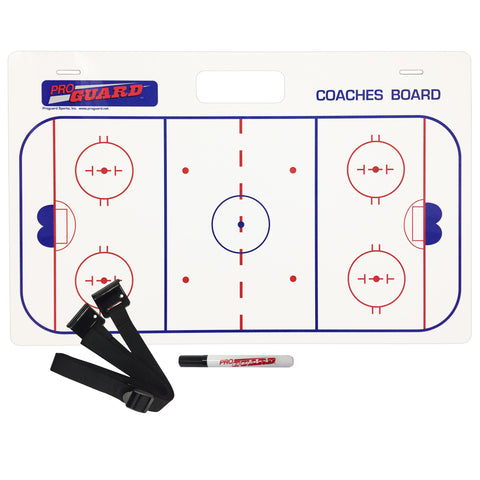 "Coaches Board with Handles & Straps (15x24"")"