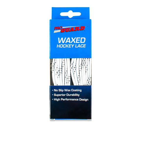 Waxed Hockey Skate Laces - Boxed