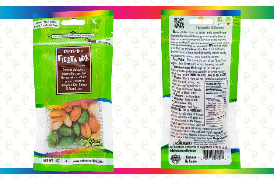 Pistachio Fiesta Mix | 6 Pack