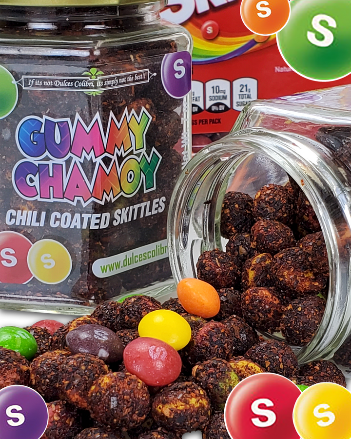 Chili Coated Skittles | Premium | Dry | 7 oz