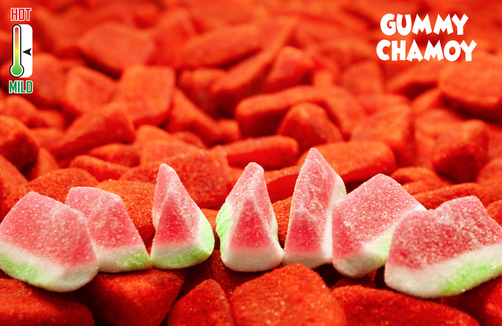 Dulces Colibri | Chamoy Watermelon Gummies | Mexican Gummy Candy