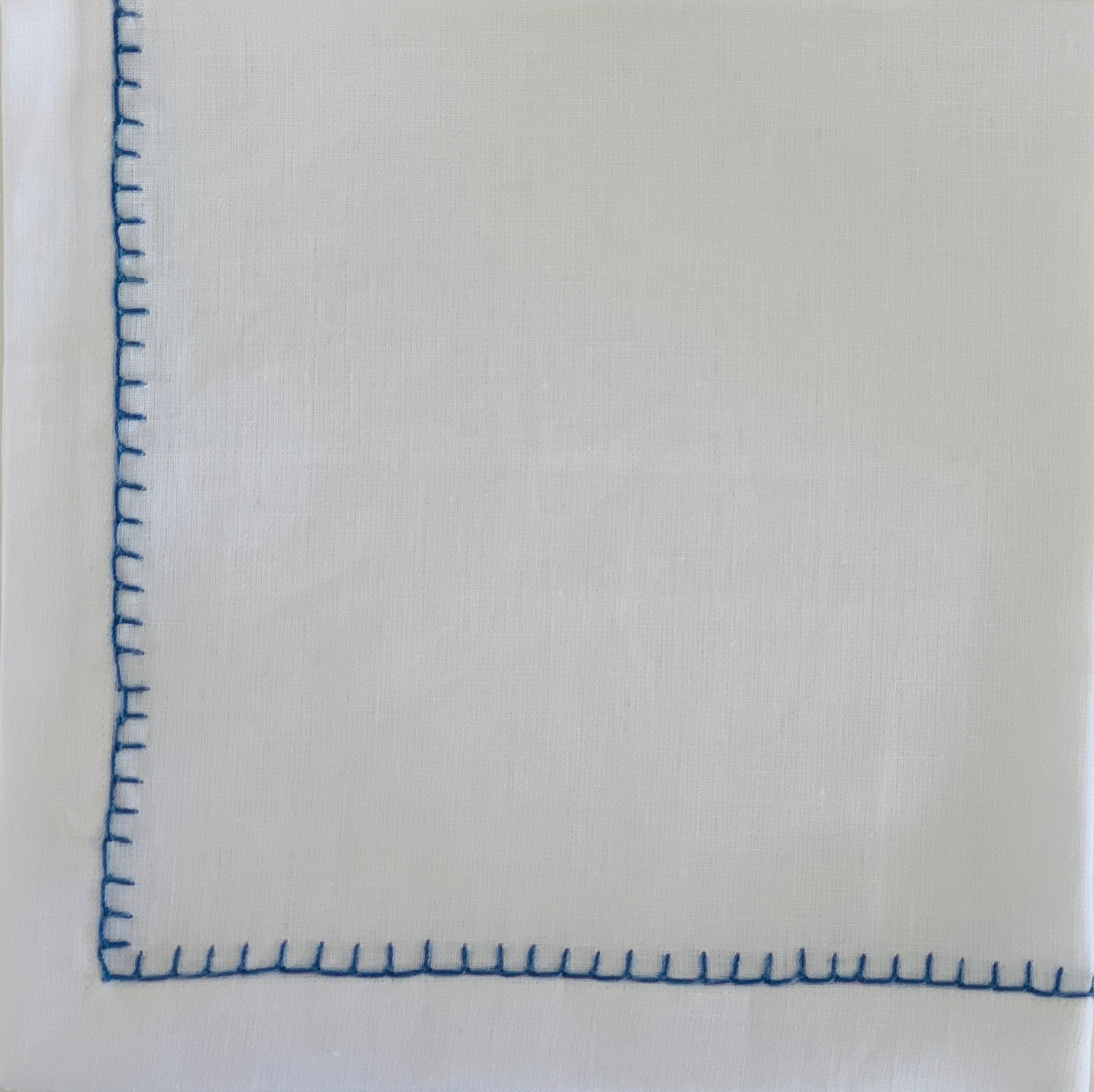 Blue Hemstitch Napkin