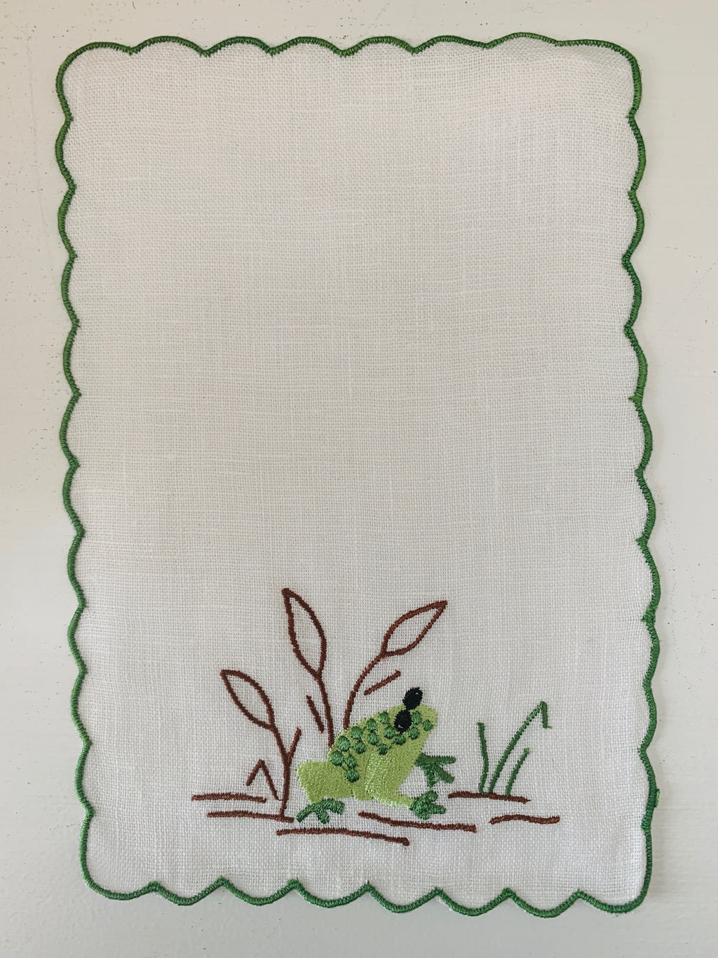Frog Cocktail Napkin