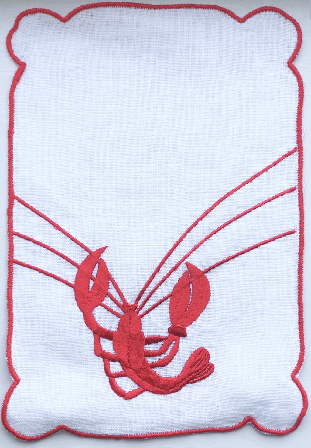 Lobster Cocktail Napkin
