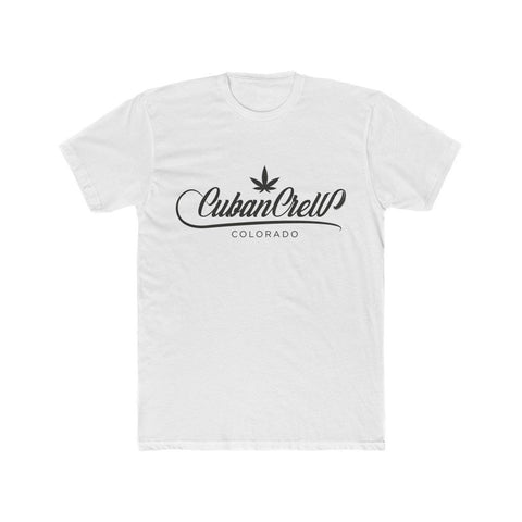 Cuban Crew Colorado Shirt (White) - SmokeCrewCo Cannabis Streetwear Brand