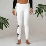 SmokeCrew OG Leggings (White)