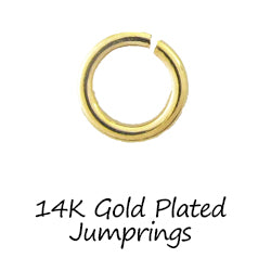 14K Gold Plated Jumprings