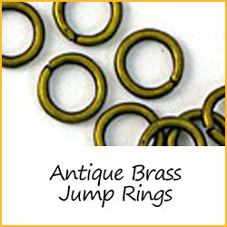 Antique Brass Jump Rings