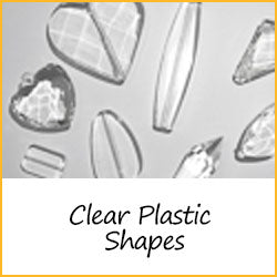 Clear Plastic Shapes