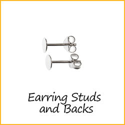 Earring Studs and Backs