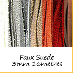 Faux Suede 3mm 16metres