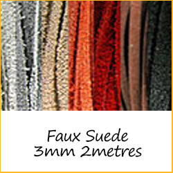Faux Suede 3mm 2metres